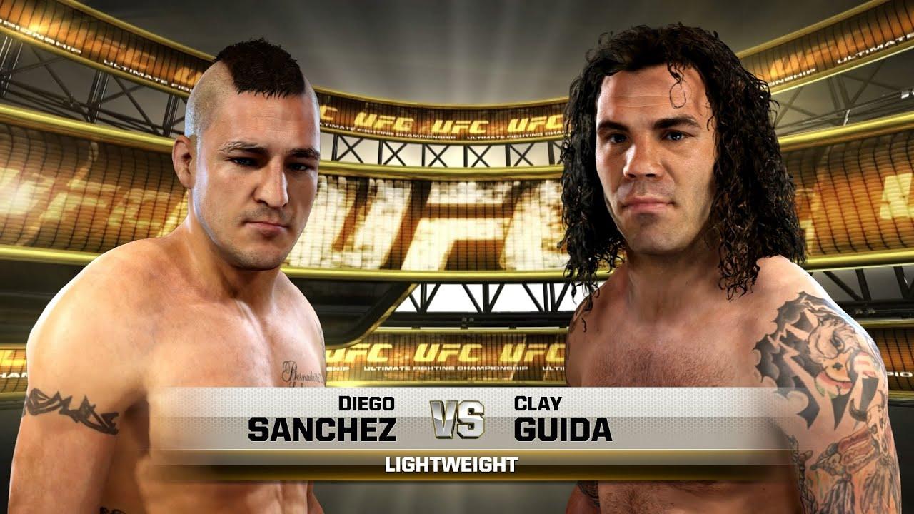 diego sanchez vs clay guida highlights