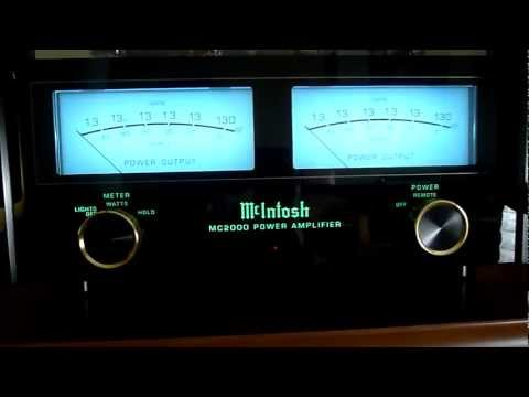 McIntosh MC2000 50th Anniversary & McIntosh C2200 Gold Edition