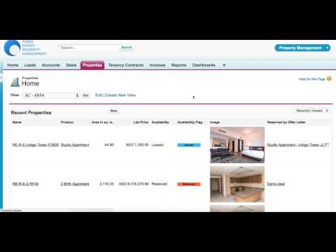 Real Estate CRM powered by Salesforce