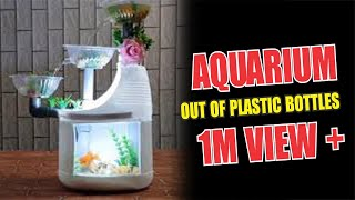 Hướng dẫn cách làm bể cá mini từ chai nhựa có lọc