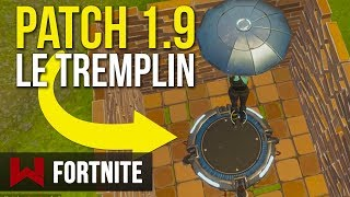 Patch 1.9: New Object, the Springboard! Fortnite Battle Royale