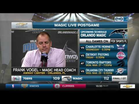 Frank Vogel—Philadelphia 76ers at Orlando Magic 3/20/17