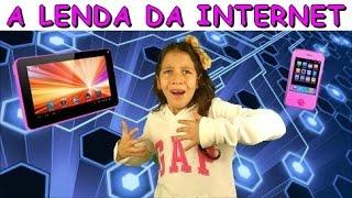 A LENDA DA INTERNET - PRESA DENTRO DO COMPUTADOR