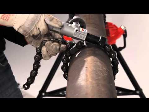 RIDGID Powered Soil Pipe Cutter Video
