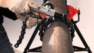 RIDGID Powered Soil Pipe Cutter Video