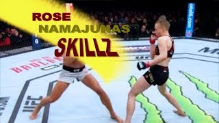 Rose Namajunas Skillz—3 UFC Champion Skills Breakdown—Core JKD Analysis