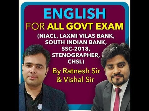 JOIN English for All Government Exam 2019 | CALL 9958500766