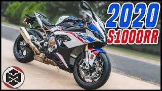 First Ride on my 2020 BMW S1000RR M!