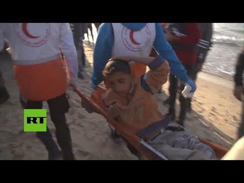 Al menos nueve heridos en una protesta a favor de una flotilla que partió de Gaza