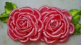 Flor de tecido – Aprender à FAZER e MONTAR a ROSA Linda