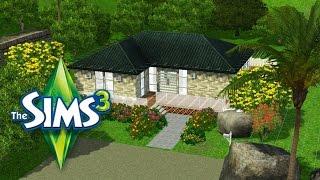 Les SIMS 3 - Construction d'une maison simple contemporaine