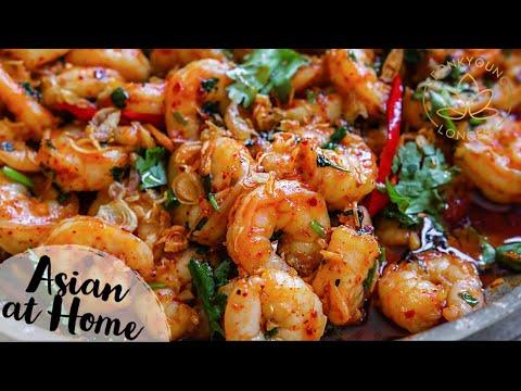 4-minutes-spicy-garlic-shrimp