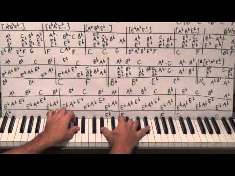 Piano Lesson On A Japanese Pop Song From 2011 - The 27th Hired Request Of 2014