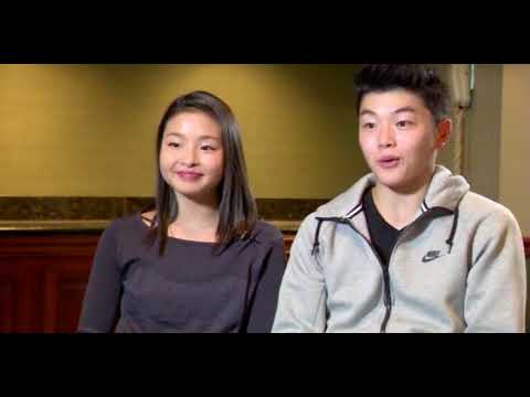 Maia Shibutani and Alex Shibutani Detroit news 2014