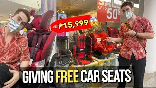 "Buying LOTS of ""CAR SEATS"" to Give Away for FREE to Filipinos (New Law)🚗 🇵🇭"