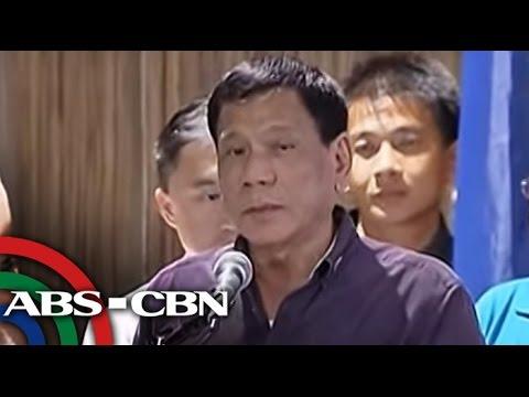 TV Patrol: Duterte, minura pati si Pope Francis sa talumpati from YouTube · Duration:  4 minutes 31 seconds