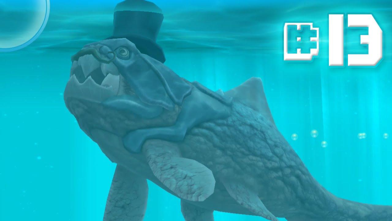 Dapper dunkleosteus hungry shark evolution ep 13 for Fish evolution game