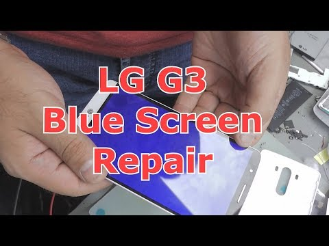 LG G3 Blue Screen Repair
