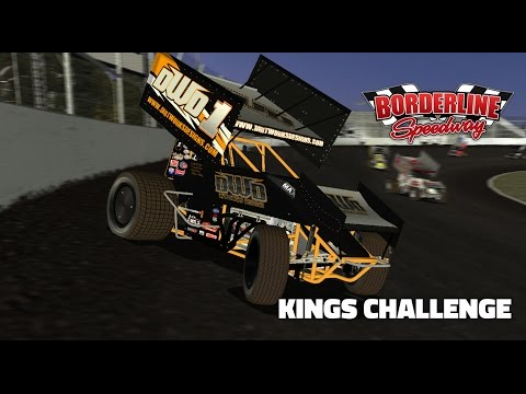 rFactor: Kings Challenge (410 Sprintcar @ Borderline Speedway)