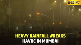 Heavy Rainfall Triggers Water-Logging In Many Parts Of Mumbai, Thane, Pune, IMD Issues Alert