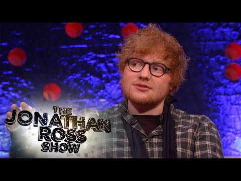 Ed Sheeran Lives In A Haunted House - The Jonathan Ross Show