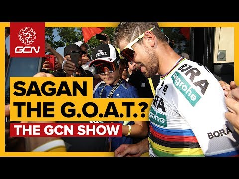 Is Peter Sagan The Greatest Cyclist Of All Time? | The GCN Show Ep. 287