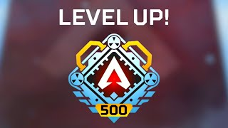 MAX LEVEL FINALLY ACHIEVED (LVL 500) in apex legends