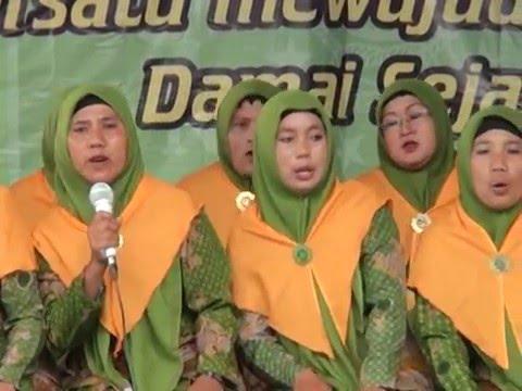 SHOLAWAT MUSLIMAT NU Oleh Fatayat RANTING NGAMBON Di Harlah NU Ke 70