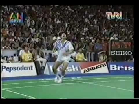 Final Thomas Cup di Jakarta - Indonesia VS Malaysia @ ANteve/TVRI 21 Mei 1994 (Part 1)
