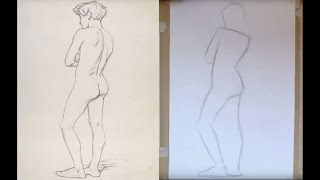 Tutorial: Capturing a standing figure in 10-15 simple lines