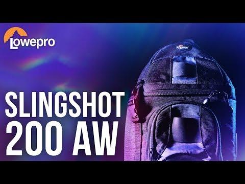 Lowepro Slingshot 200 AW CAMERA BAG - Hands-On Review