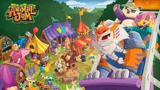 Animal Jam - Дикий Мир Первое знакомство с Замечательной детской игрой Краткий обзор Let's Play
