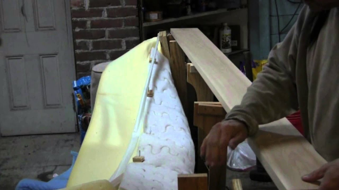 repair sofa wood frame sofas e poltronas youtube