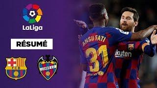 La Liga : Le duo Messi-Fati porte le Barça contre Levante !