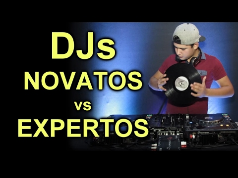 Djs Novatos vs Expertos