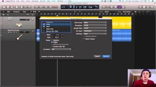 Logic Pro X Tutorial - Bouncing