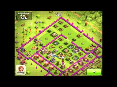 My Best Clash of Clans Raid  647.5k resources