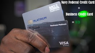 Use Your Navy Federal Credit Card To Get Cash And Use A Business Credit Card To Pay No Interest