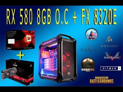 RX 580 8GB + FX 8320 |Test Em 7 NEW GAMES | 1080p