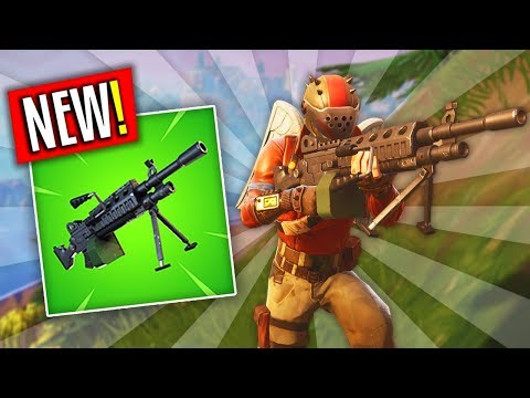 *NEW* RARE LMG GAMEPLAY!! Is It Good? | Fortnite: Battle Royale