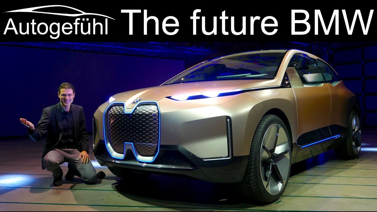 The future of BMW? BMW Vision iNext EV REVIEW - Autogefühl ...