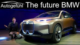 The future of BMW? BMW Vision iNext EV REVIEW - Autogefühl
