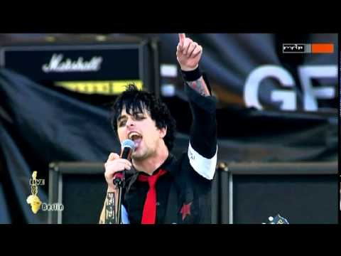 GREEN DAY - MINORITY & WE ARE THE CHAMPIONS (Live at Live 8, 2005)