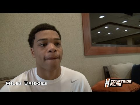 Miles Bridges Interview In Preparation For The Big Strick Classic