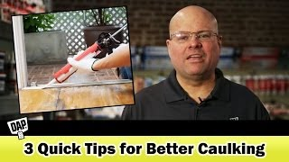 3 Tips for Better Caulking and Sealing from DAP | How-To