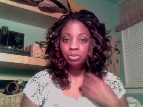 How To Spiral Curl Micro Braids Alternative To Flexi Rods