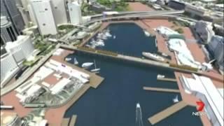 City Of Sydney Council Delays Goward's Pyrmont Bridge Compost Garden Plan: Ch 7 News 30/09/14