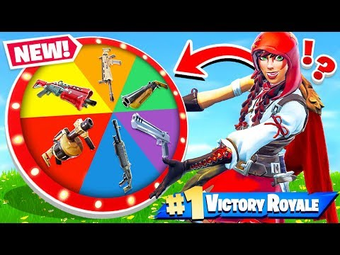 WHEEL Of WEAPONS *NEW* Game Mode In Fortnite Battle Royale