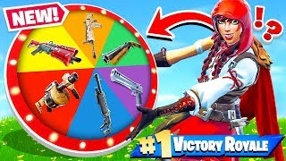 WHEEL of WEAPONS *NEW* Game Mode in Fortnite Battle Royale thumbnail