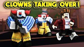 CLOWNS ARE TAKING OVER JAILBREAK! (ROBLOX Jailbreak)